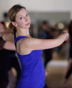 catherine-cordier-professeur-danse-contemporaine-cunningham-limon-cdm- ©-virgine-kahn