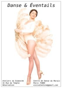 vivi-valentine-affiche-cours-adultes-professeur-danse-burlesque-eventails-cdm
